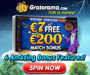 Latest bonus from Gratorama Casino