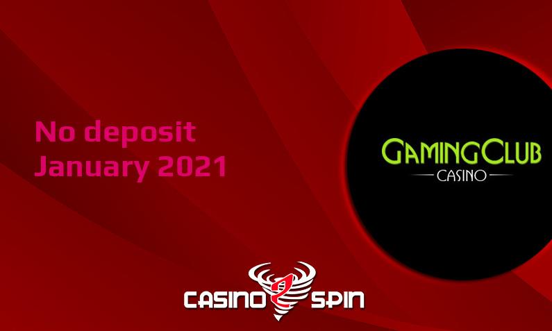 Latest Gaming Club Casino no deposit bonus January 2021