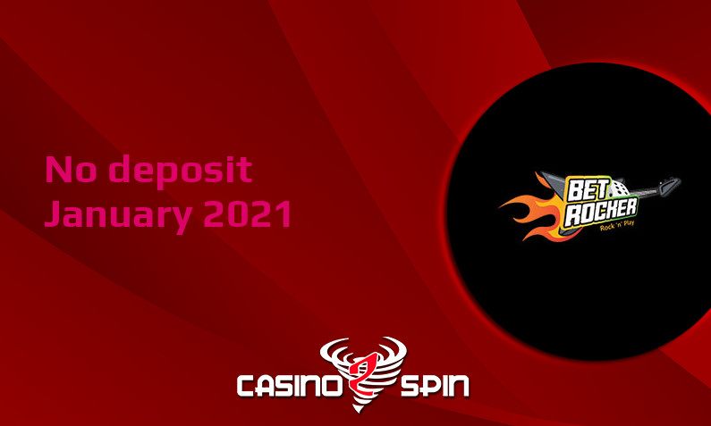 Latest no deposit bonus from Betrocker 20th of January 2021