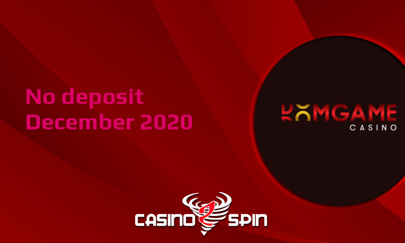 Latest no deposit bonus from DomGame Casino, today 14th of December 2020