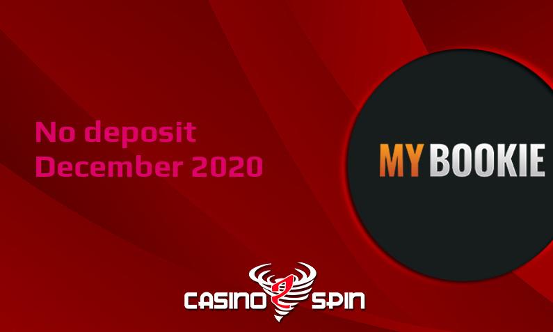 Latest no deposit bonus from MyBookie, today 19th of December 2020