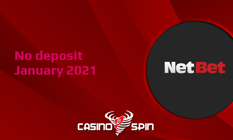 Latest no deposit bonus from NetBet Casino- 19th of January 2021