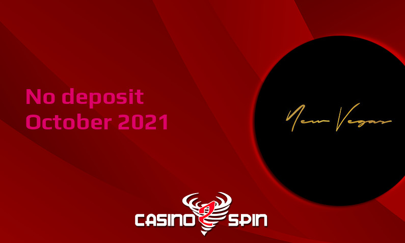 Latest no deposit bonus from NewVegas, today 7th of October 2021
