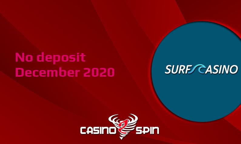 Latest no deposit bonus from Surf Casino- 3rd of December 2020