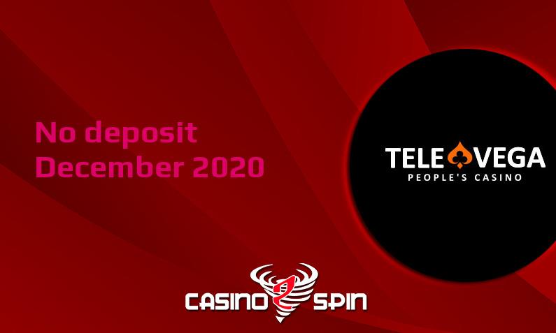 Latest no deposit bonus from TeleVega December 2020