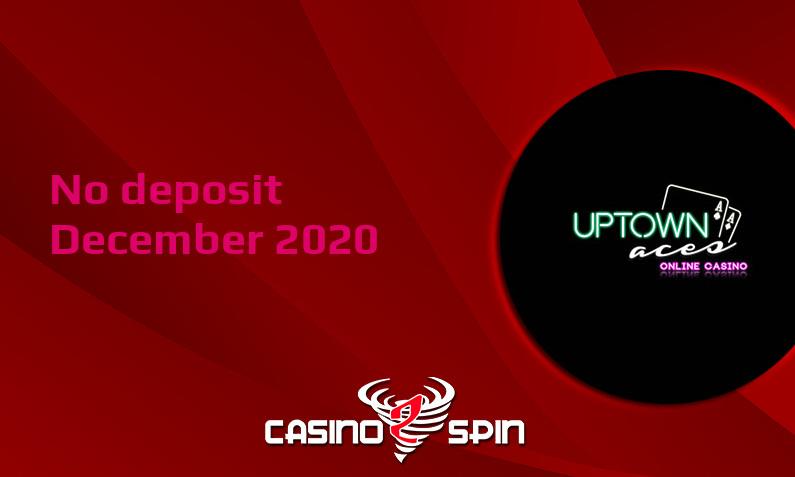 Latest no deposit bonus from Uptown Aces Casino- 10th of December 2020