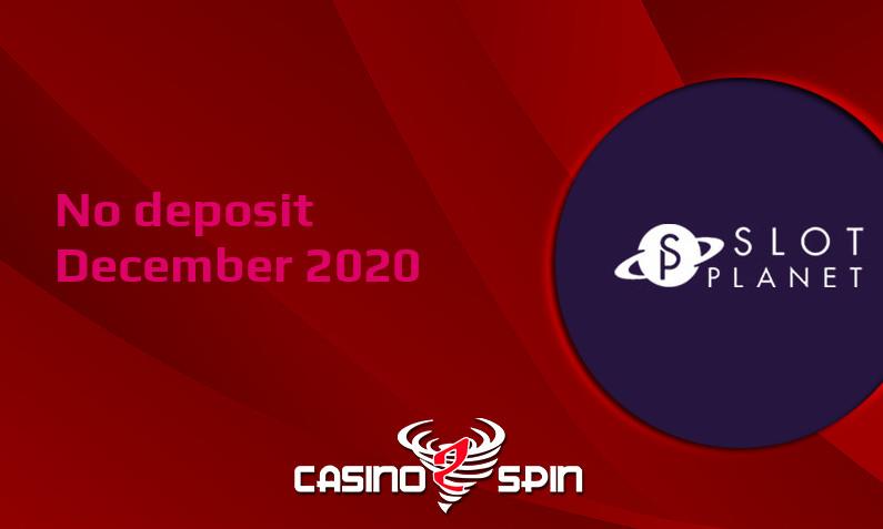 Latest Slot Planet Casino no deposit bonus- 7th of December 2020