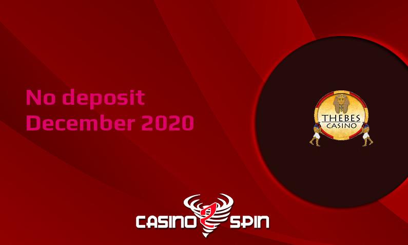 Latest Thebes Casino no deposit bonus December 2020